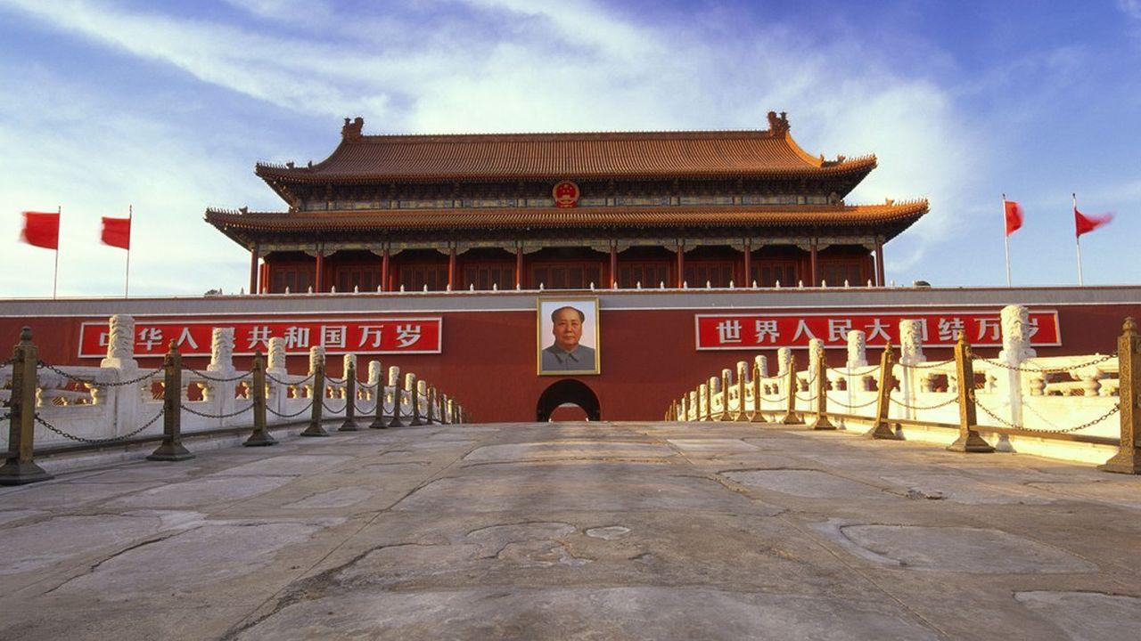 La place Tiananmen à Pékin