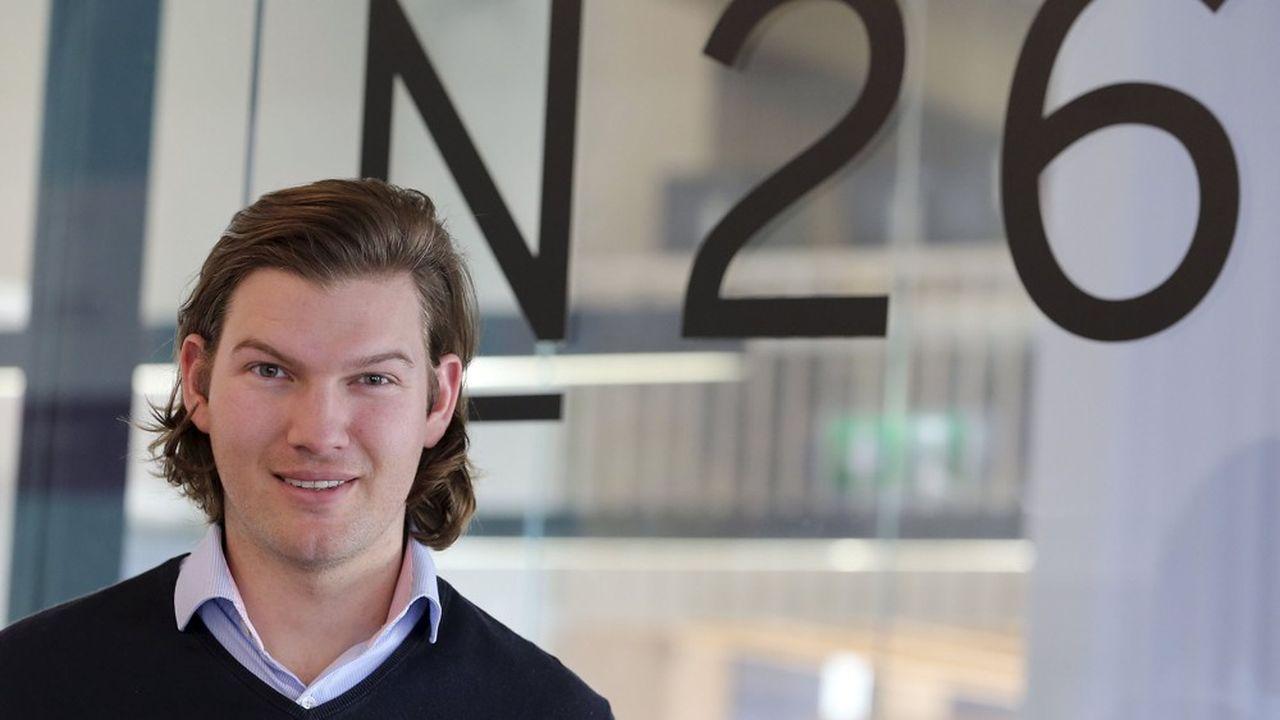Avec 1.500salariés servant plus de 5millions de clients, la néobanque fondée en2013 par Valentin Stalf (ci-dessus) et Maximilian Tayenthal n'a plus rien d'une start-up.