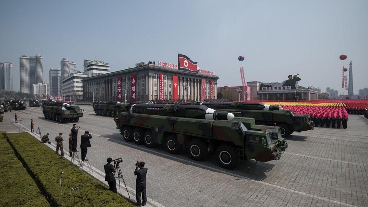 Selon les experts de l'armée américaine, la Corée du Nord aurait entre 20 et 60 armes nucléaires aujourd'hui.