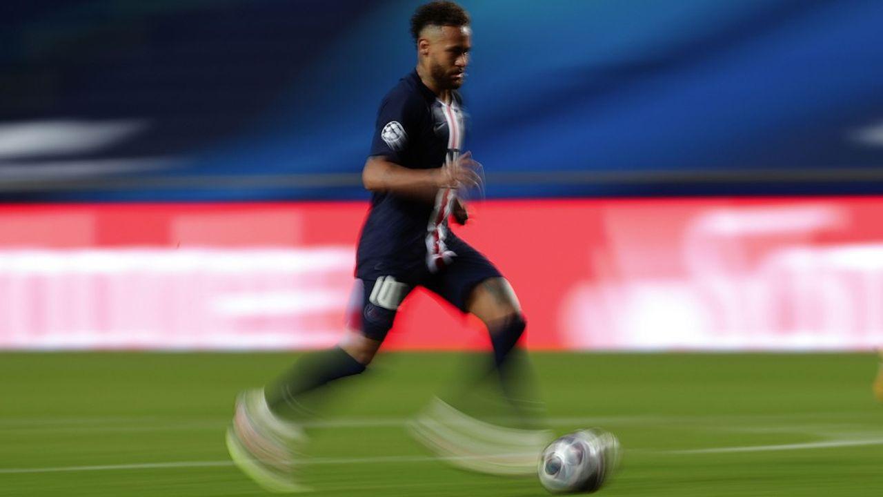 Neymar a été l'un des grands artisans de la victoire du PSG en demi-finale de la Ligue des champions.