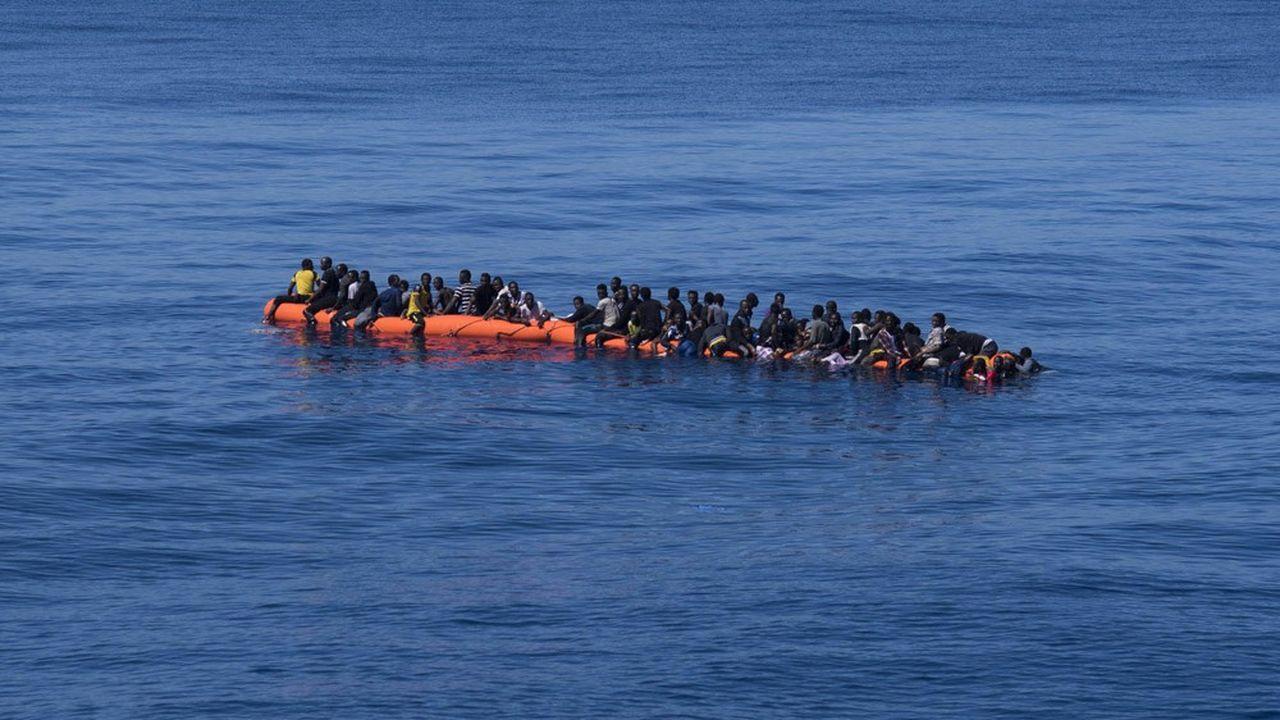 Le 15 août dernier, un nombre croissant de migrants tentait toujours d'entrer illégalement en Italie.