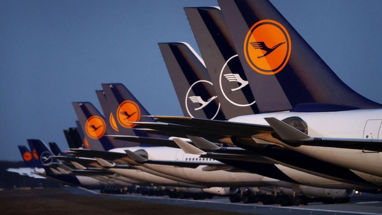 Le groupe Lufthansa prévoit de retirer de sa flotte plus d'une centaine d'avions.