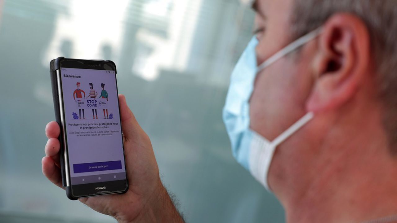 L'application Stopcovid utilise la technologie Bluetooth pour notifier les utilisateurs s'ils ont croisé une personne contaminée par le coronavirus.