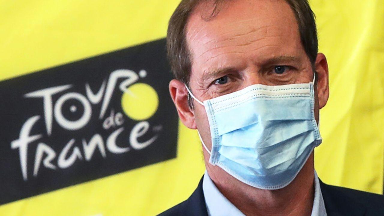 Le directeur appelle les spectateurs à porter le masque — Tour de France