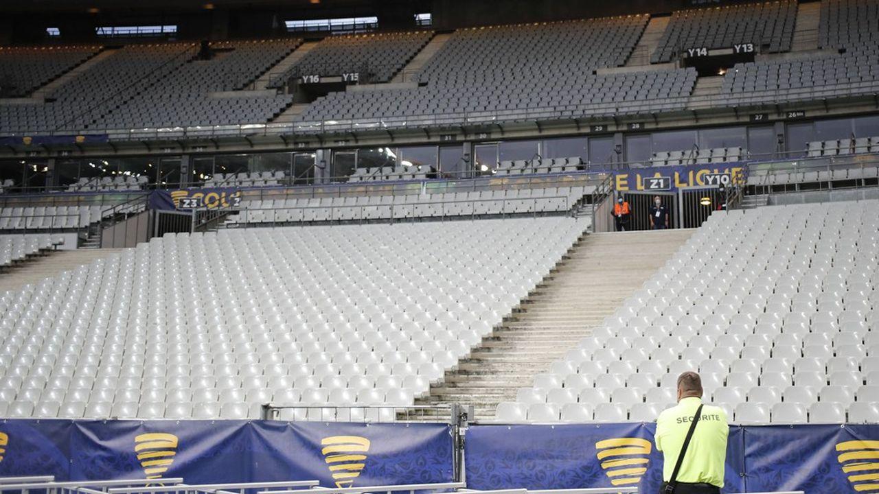 Le 31juillet dernier, pour le match Paris Saint Germain - Lyon, le Stade de France était toujours privé de spectateurs pour raisons sanitaires.