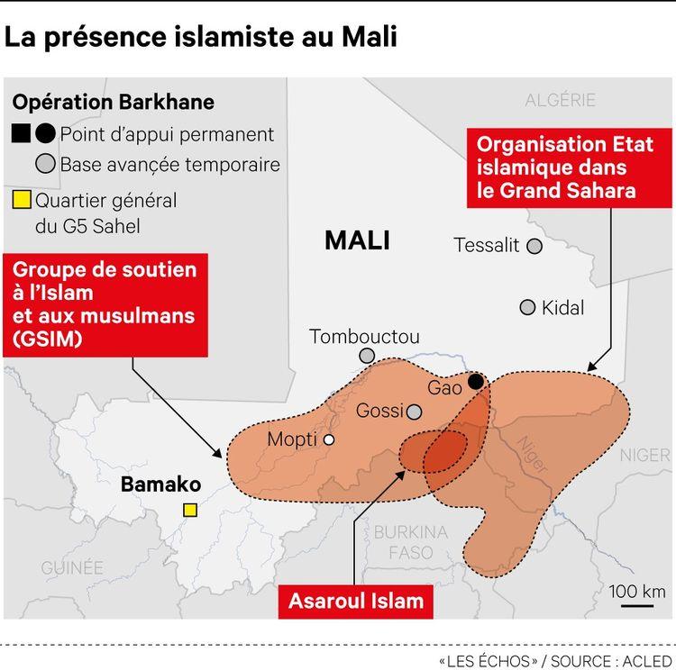 Arrivées par le nord du pays, les violences djihadistes se sont ensuite étendues au centre du Mali et aux pays voisins.