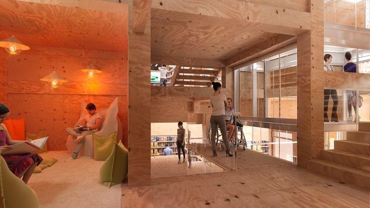 La rénovation de la bibliothèque aura coûté 22 millions d'euros.
