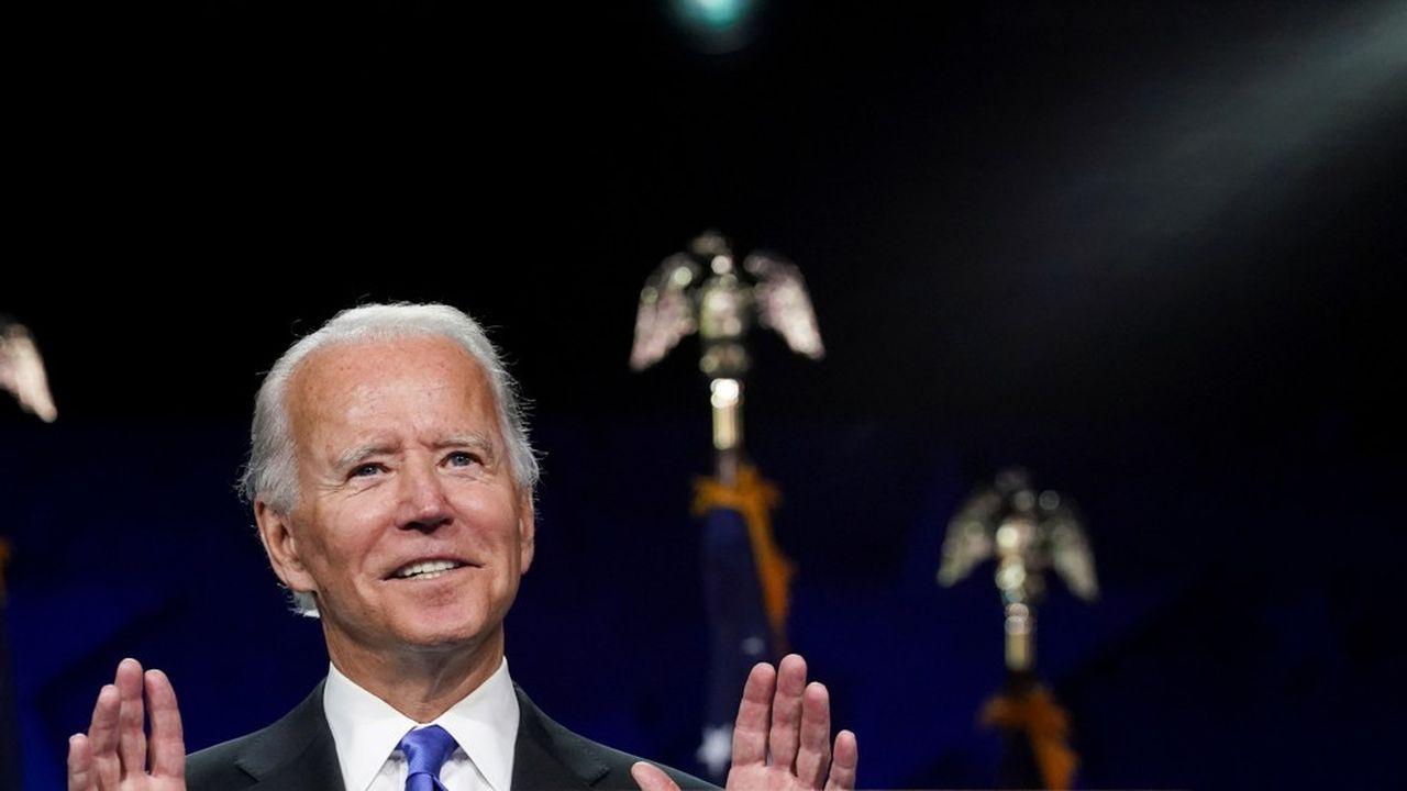 «Unis, nous pouvons vaincre cette époque sombre en Amérique», a notamment déclaré Joe Biden, investi candidat démocrate à l'élection présidentielle américaine.