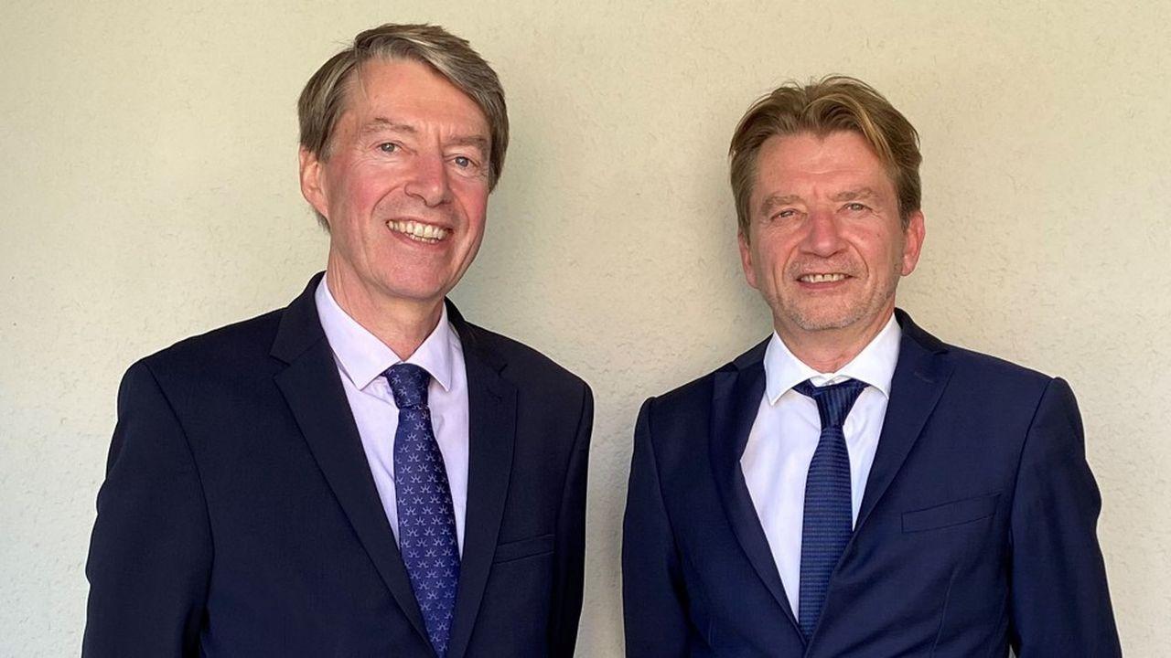 Alain et Patrick Allaire, dirigeants fondateurs de Gestal.