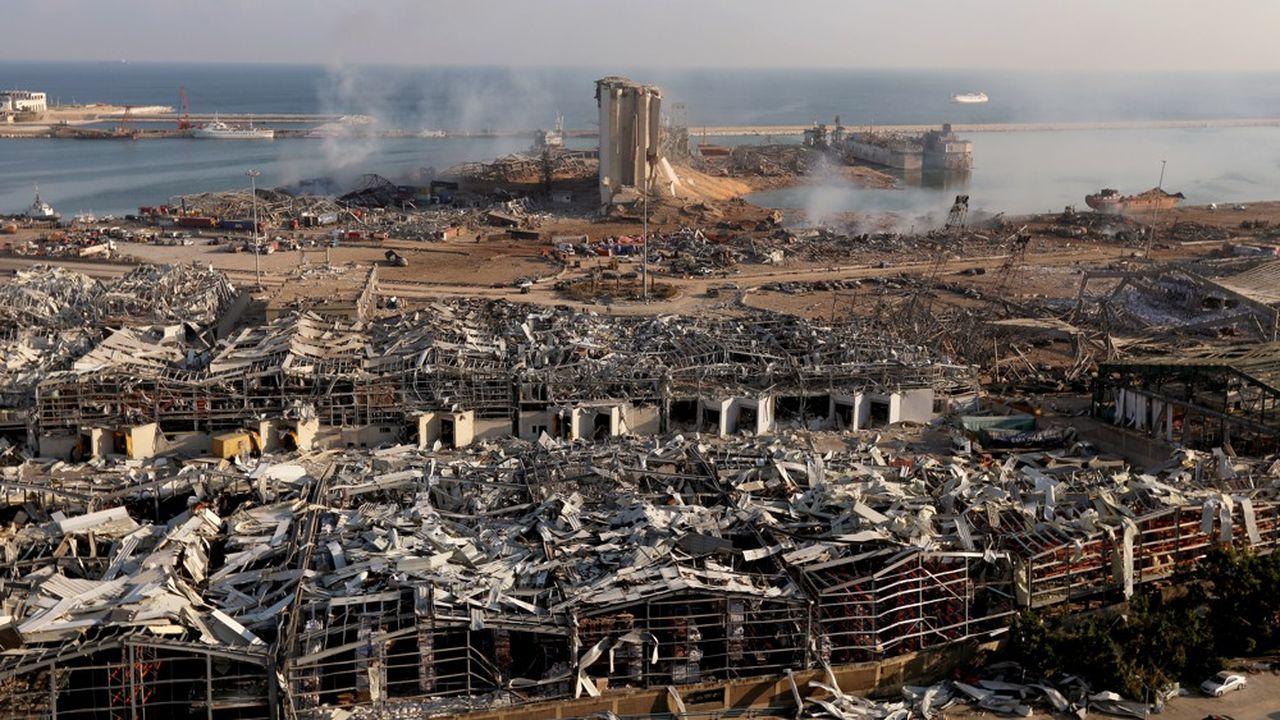 Dévasté par l'explosion d'un entrepôt début août, Beyrouth doit endurer un reconfinement généralisé, comme le reste du pays.
