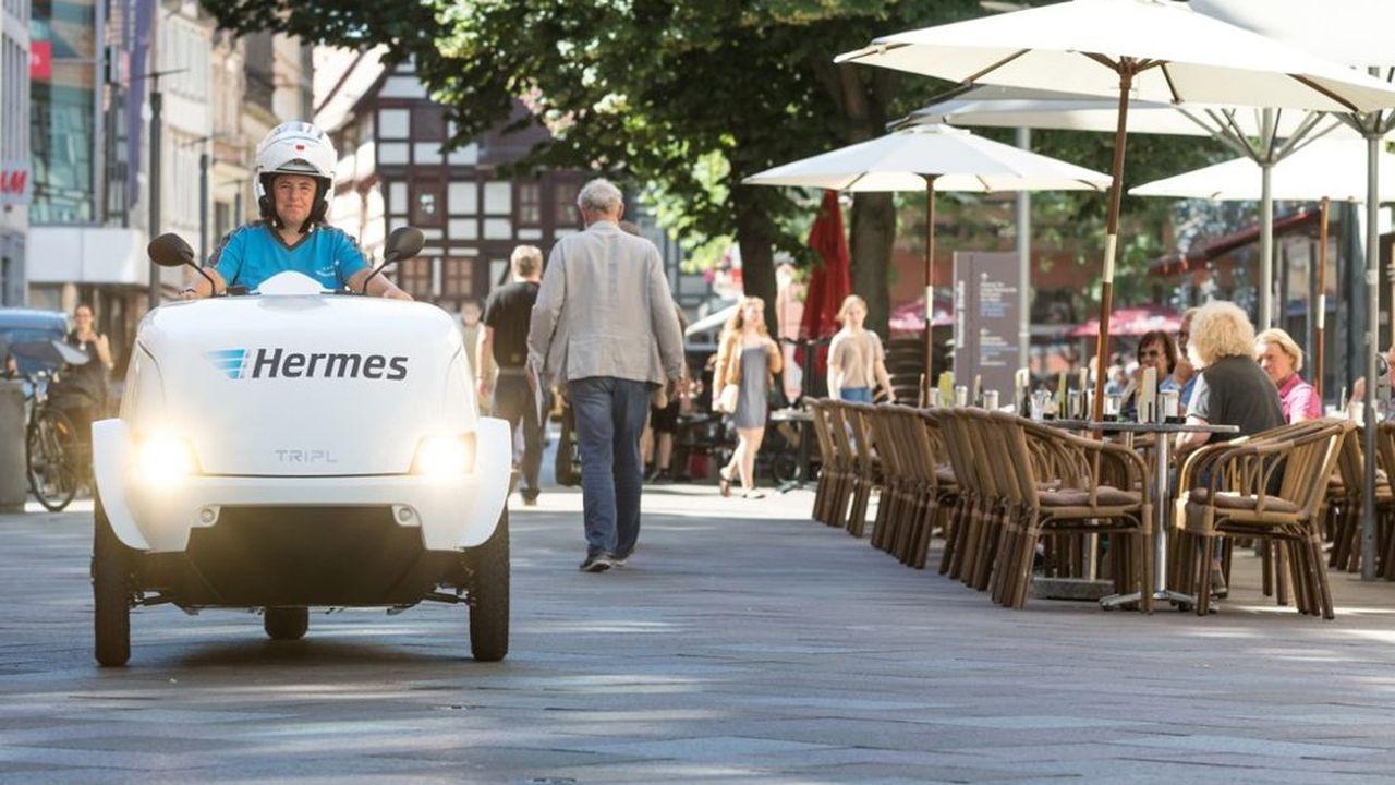 Le marché allemand du petit colis, premier d'Europe, est en plein boom depuis le début de la crise sanitaire.