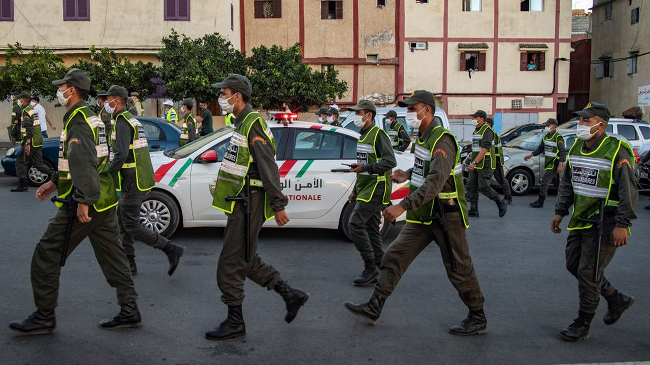 A Rabat, la capitale administrative du pays, plusieurs quartiers ont été reconfinés à la suite de la détection de nouveaux foyers infectieux.