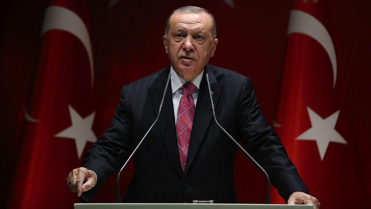 «Dieu nous a ouvert une porte vers des richesses inédites», a déclaré le président turcRecep Tayyip Erdogan vendredi.