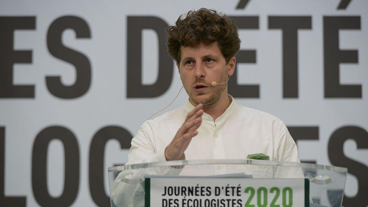Le secrétaire national d'EELV, Julien Bayou.
