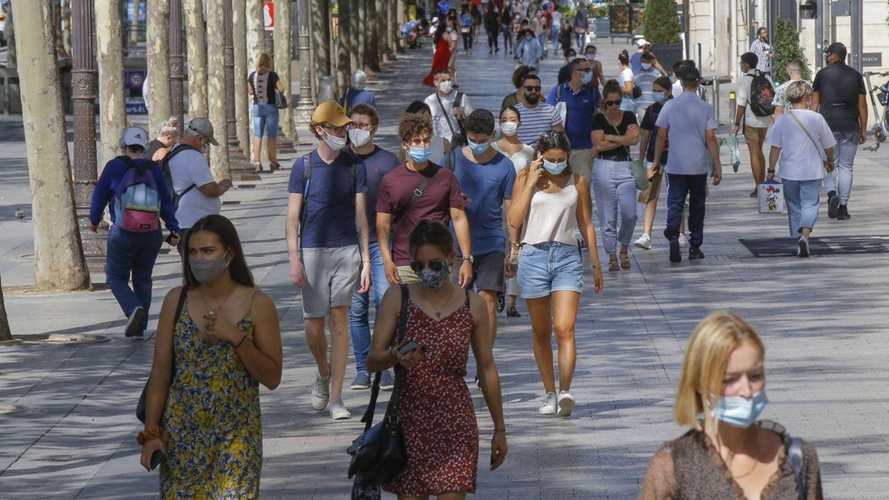 La France a enregistré 4.586 cas confirmés supplémentaires de contamination par le nouveau coronavirus en l'espace de 24heures.