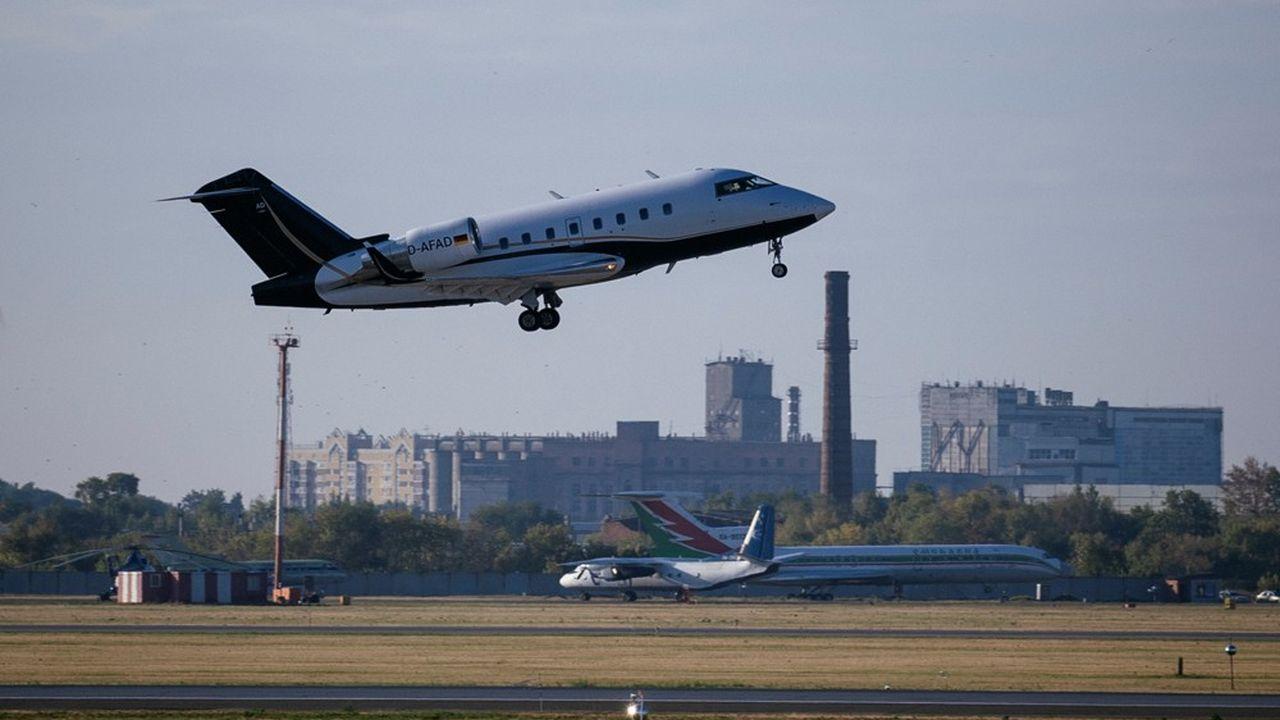 L'avion médicalisé emmenant l'opposant russe en Allemagne a décollé vers 2heures GMT