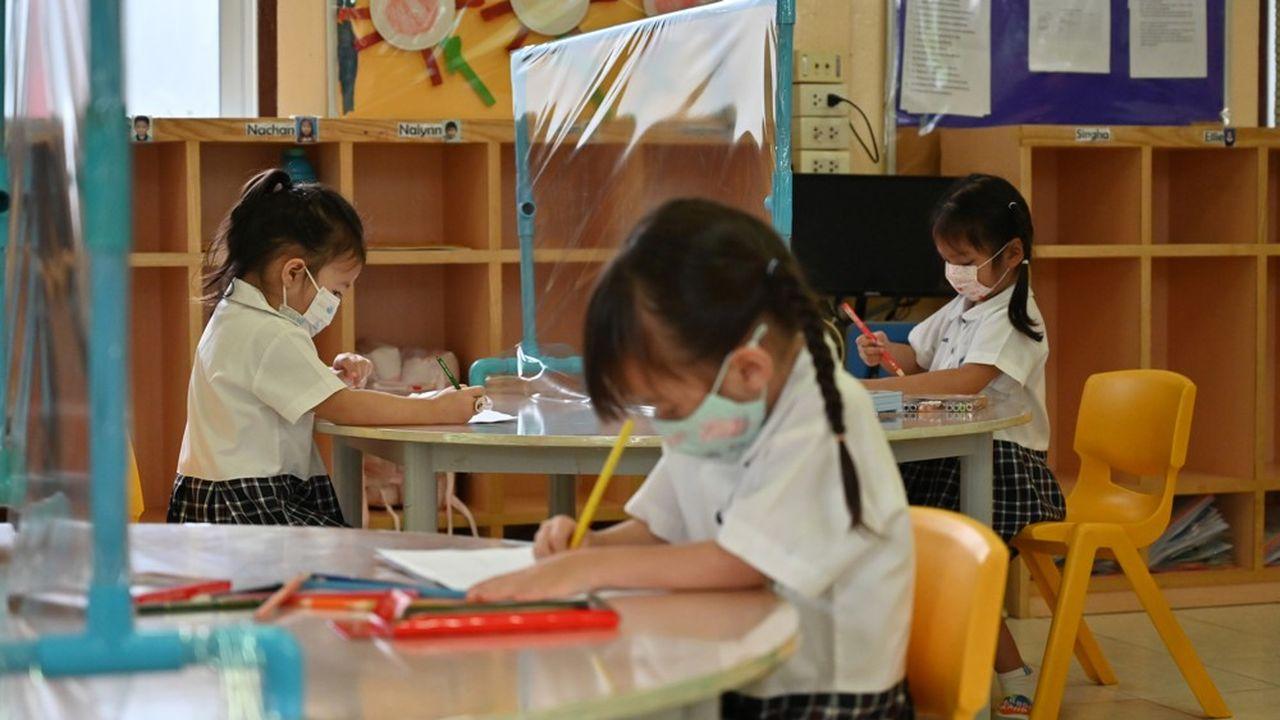 Avec l'approche de la rentrée scolaire, la question du port du masque par les enfants est un sujet de préoccupation croissant