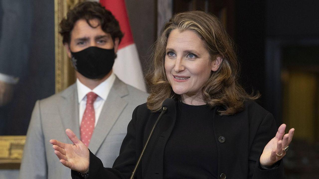 Si Justin Trudeau était forcé de quitter le gouvernement, Chrystia Freeland serait idéalement placée pour le remplacer.