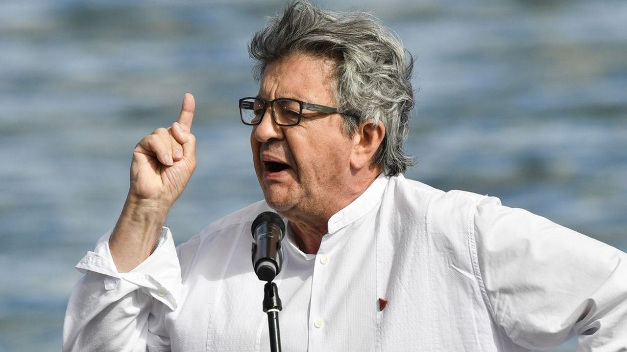 Le chef de file de la France Insoumise (LFI), Jean-Luc Mélenchon