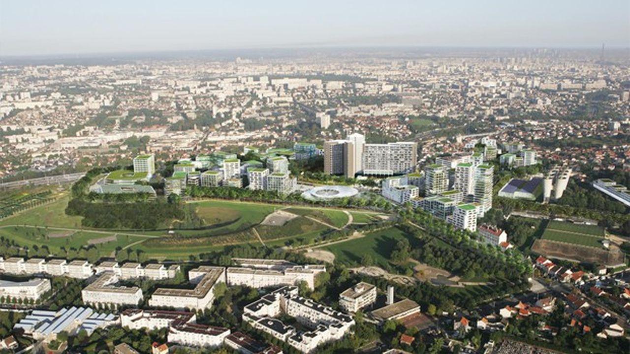 La moitié des 150.000 mètres carrés de locaux tertiaire ce nouveau cluster dédié à la santé sont déjà commercialisés