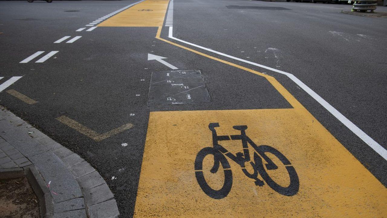 La ville d'Alès compte 30 kilomètres de pistes et espaces cyclables.
