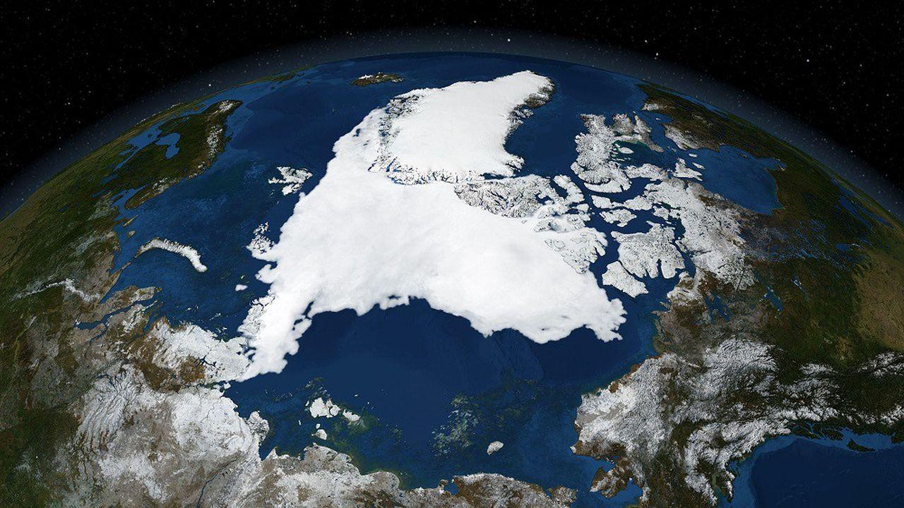 L'Arctique a perdu environ 7.600milliards de tonnes de glace en moins de trente ans.
