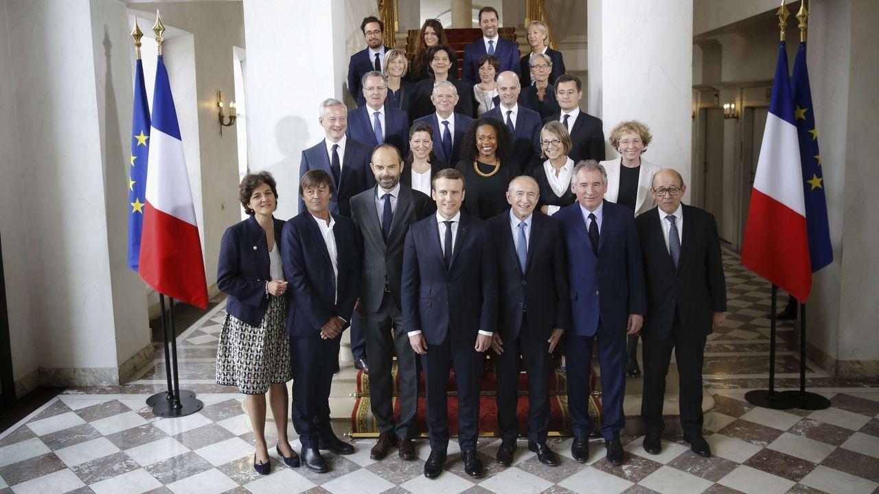 Les ministres démissionnaires ou évincés sous Macron