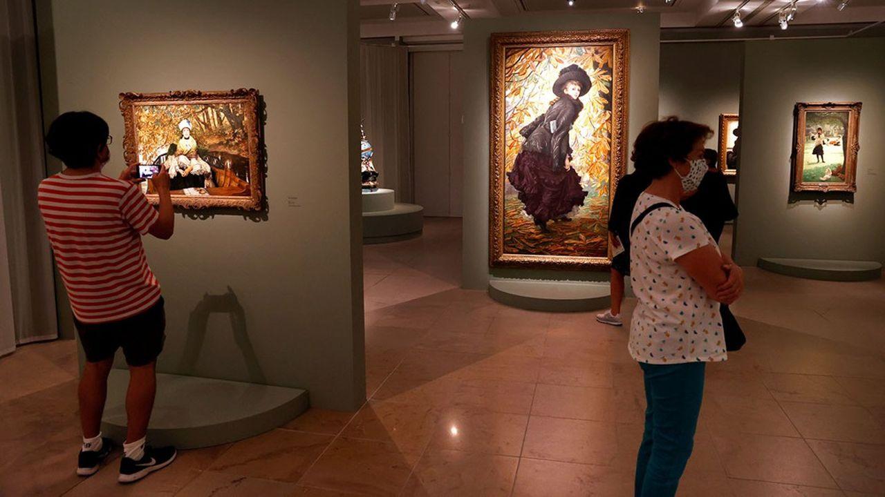 James Tissot innove rarement, mais ses peintures sont plaisantes. Et l'amour lui donne des ailes pour créer quelques oeuvres majeures.
