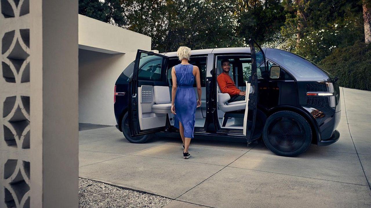 Canoo espère lancer son premier véhicule, un monospace compact à sept places, en 2021.