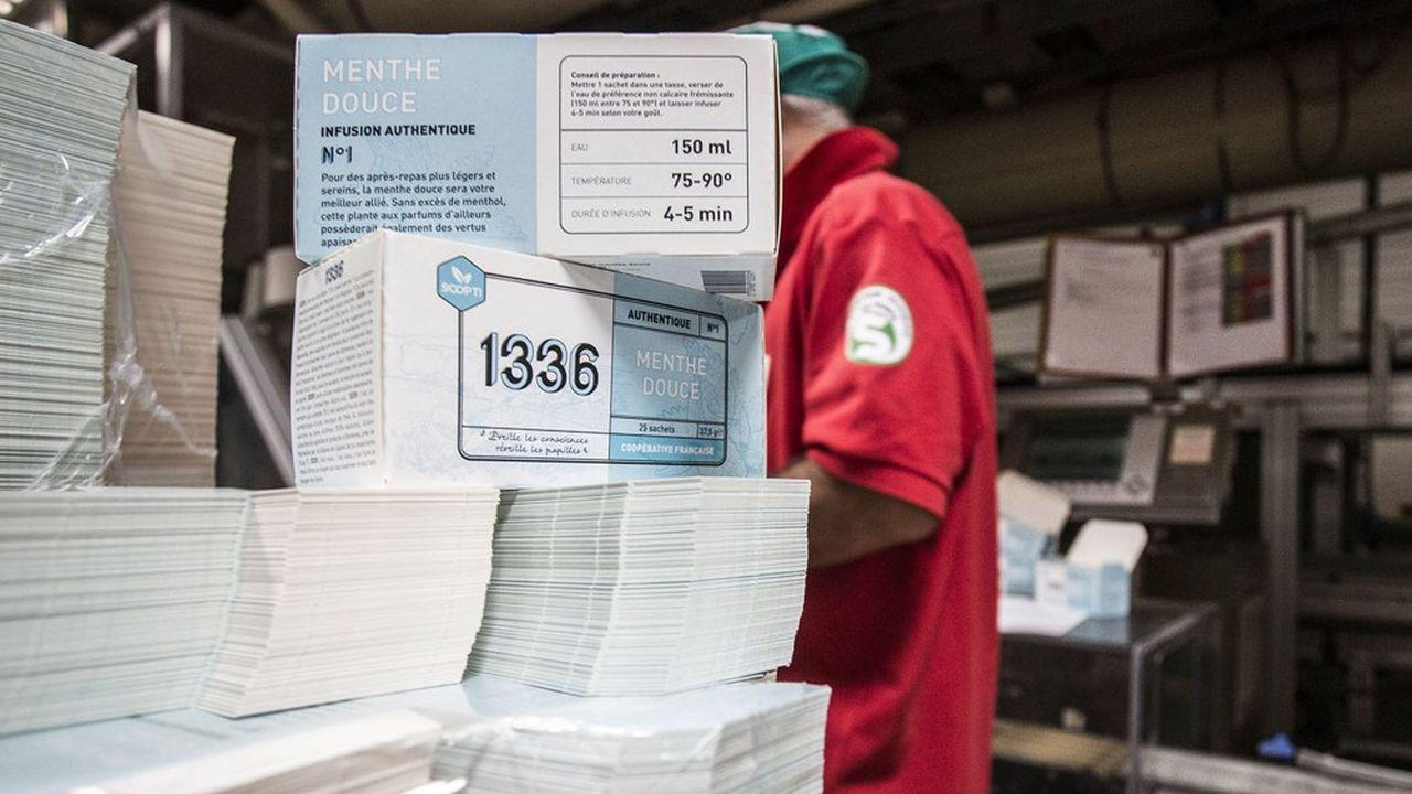 Scop-Tiproduit une quarantaine de références sous sa marque 1336 (40 tonnes) ou pour le compte de marques distributeurs (160 tonnes).
