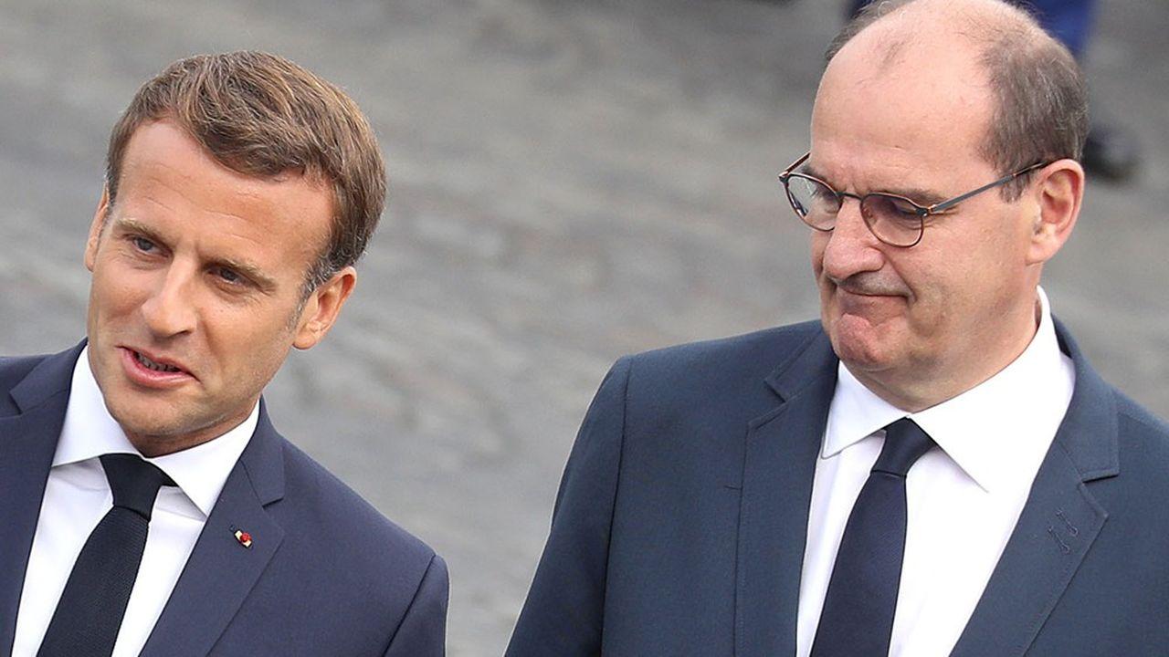 Face aux incertitudes de la rentrée, Emmanuel Macron et Jean Castex sont obligés de s'adapter en permanence.