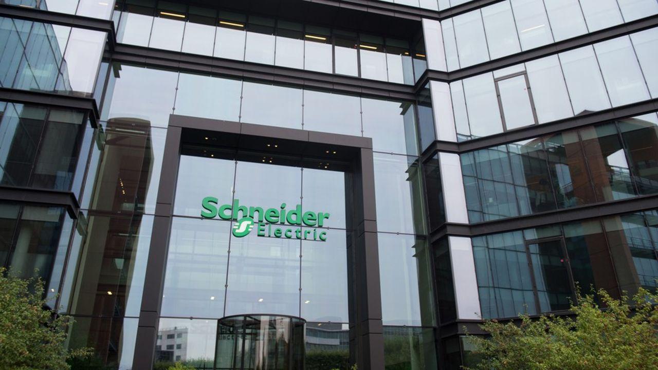 Les logiciels et les services représentent 17% des revenus de Schneider, spécialiste des équipements électriques de basse et moyenne tension.