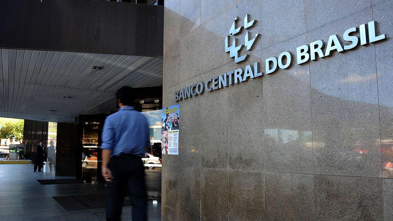 Le siège de la banque centrale brésilienne, à Brasilia