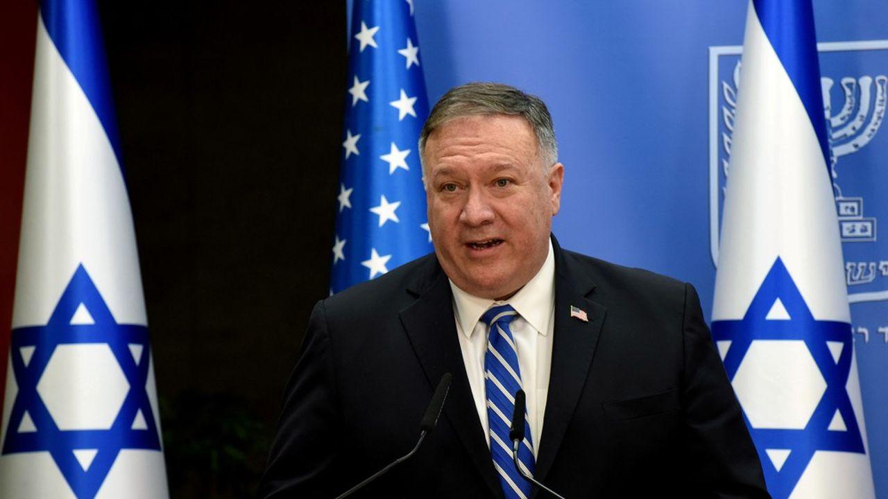 Surfant sur la vague provoquée le 13août dernier par l'annonce d'un accord de normalisation entre Israël et les Emirats Arabes, le secrétaire d'Etat américain Mike Pompeo est en visite au Proche-Orient en ce début de semaine.