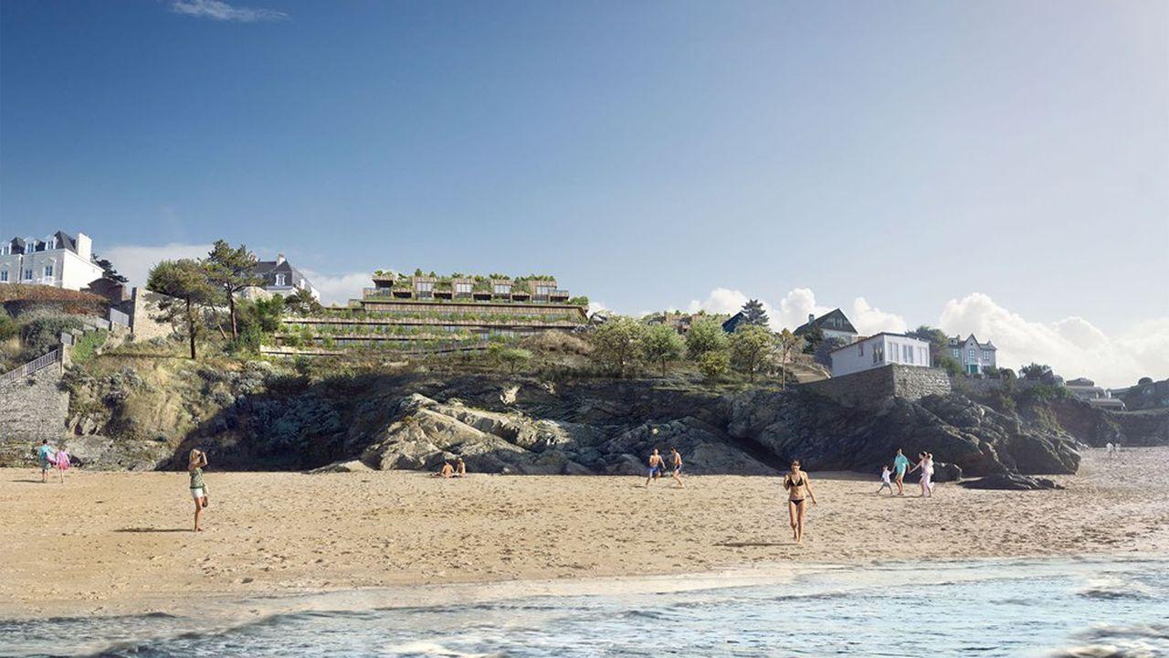 Le groupe Raulic maintient son vaste projet immobilier Les Nielles, de plus de 50millions d'euros.