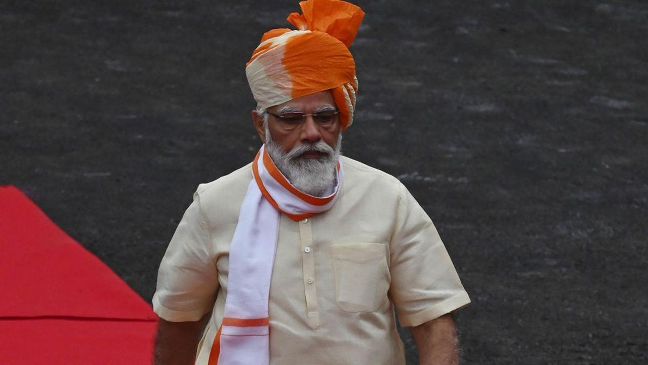 Le Premier ministre indien Narendra Modi n'a pas officiellement banni Huawei, mais les opérateurs sont discrètement priés de l'évincer.