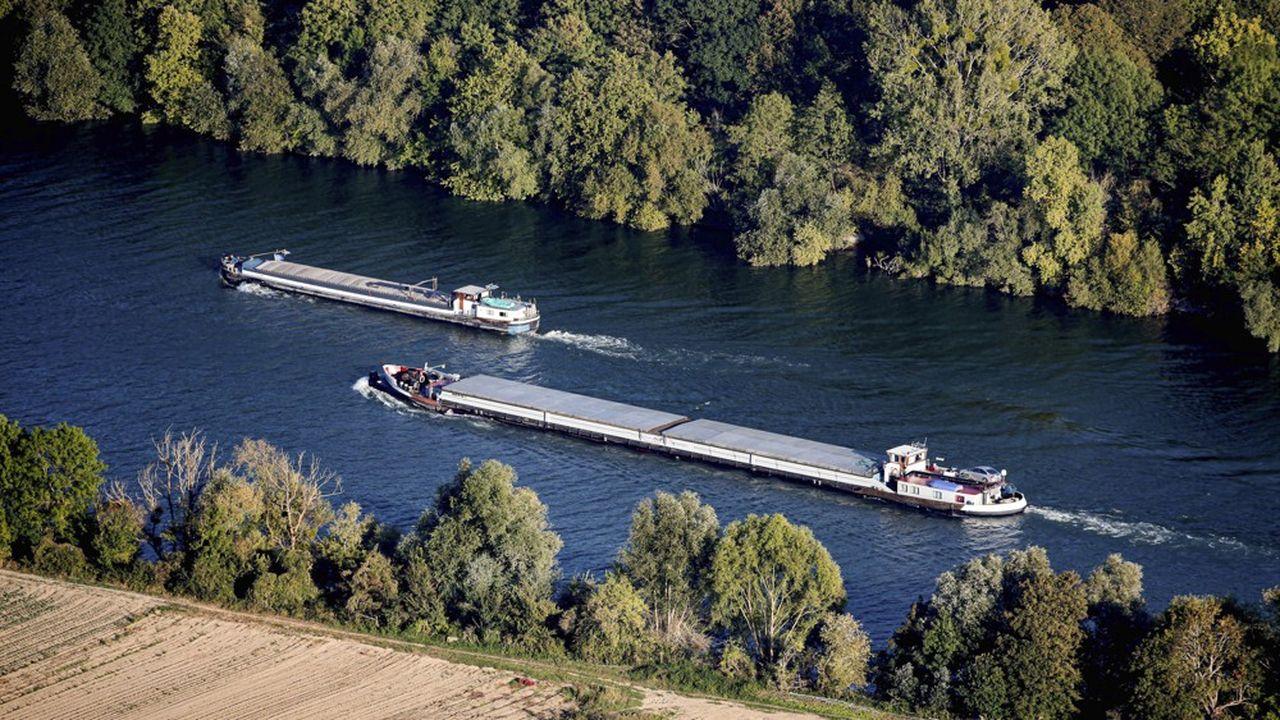 En 2019, plus de 16millions de tonnes de marchandises ont été transportées sur cet axe fluvial, soit l'équivalent de plus de 2.000 poids lourds par jour.
