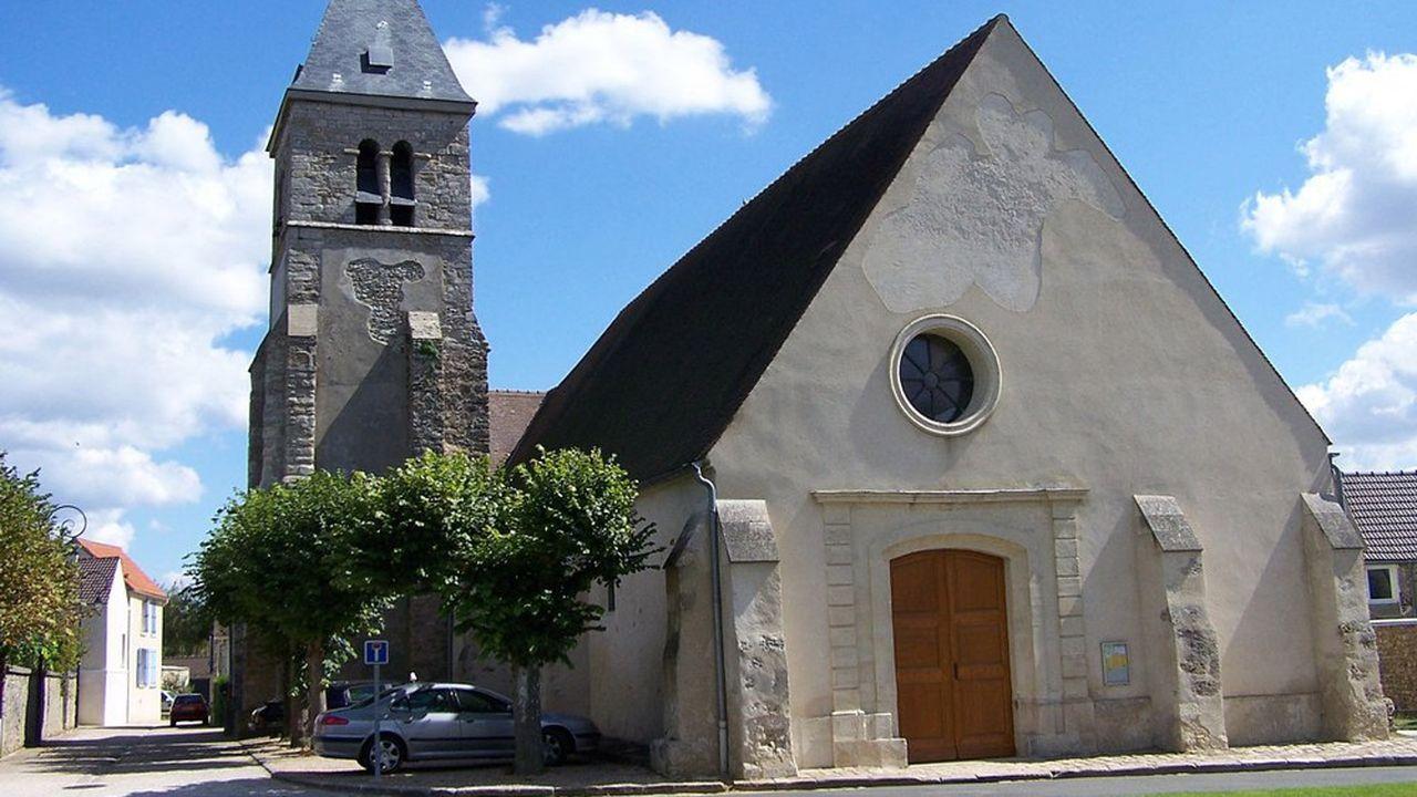 L'église des Alluets-le-Roi, construite au XIIIesiècle, a reçu le label patrimoine régional.