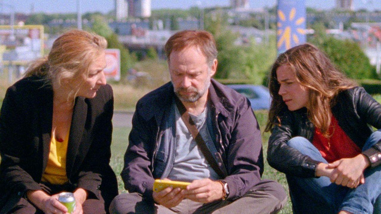 Christine (Corinne Masiero), Bertrand (Denis Podalydès) et Marie (Blanche Gardin), trois mousquetaires… ou trois Don Quichotte.