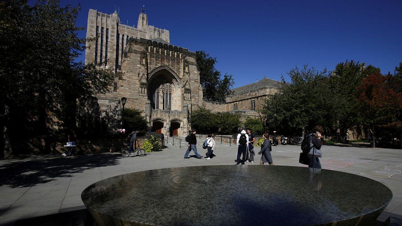Les étudiants américains, ici à Yale, s'endettent en général pour de nombreuses années pour financer leurs études.