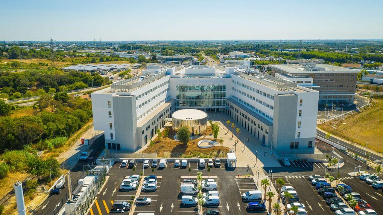 La nouvelle clinique Saint-Jean se déploie sur 34.000m2 et compte 40spécialités.