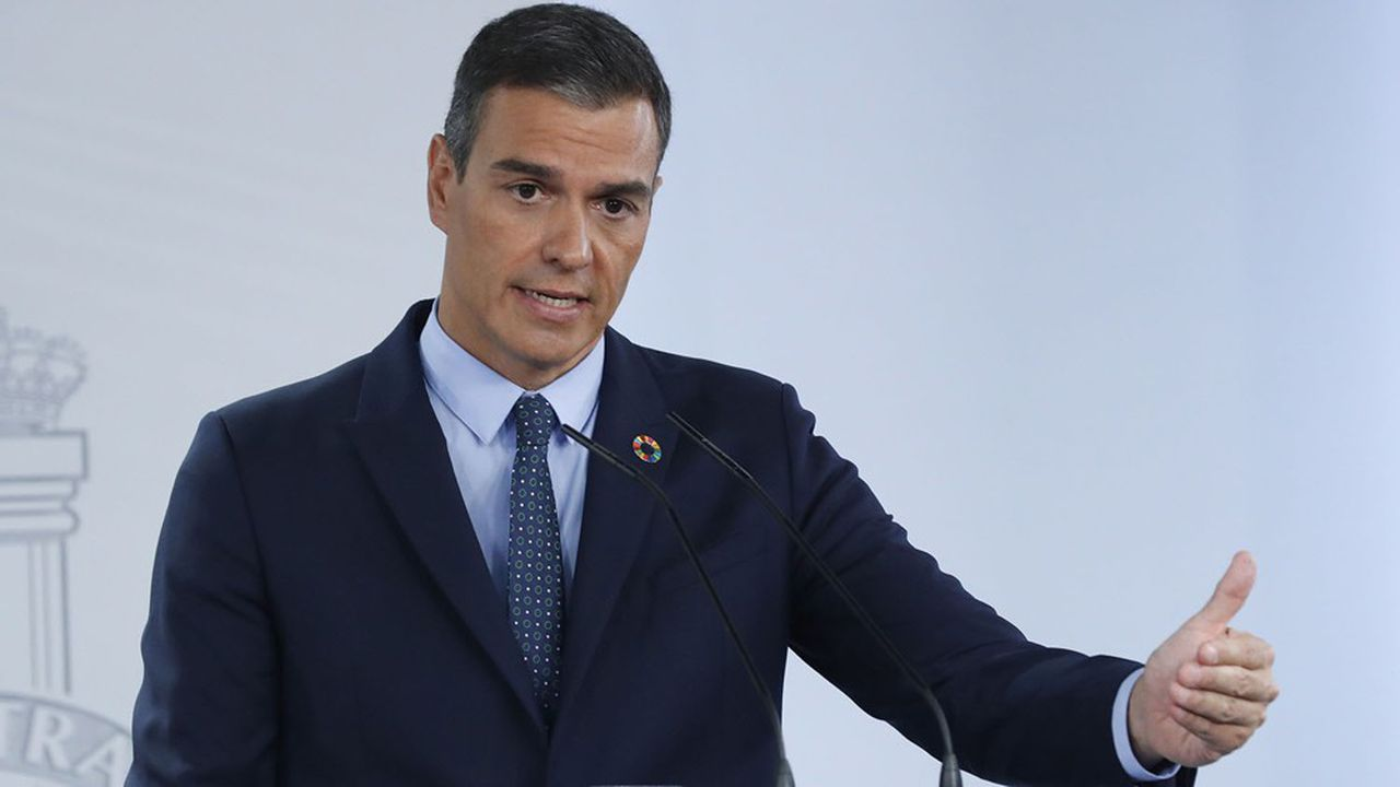 A l'issue d'un Conseil des ministres le 25août, le président Pedro Sánchez s'est dit, lors d'uneconférence de presse à Madrid, «préoccupé» par la reprise de la propagation du virus Covid-19 en Espagne.