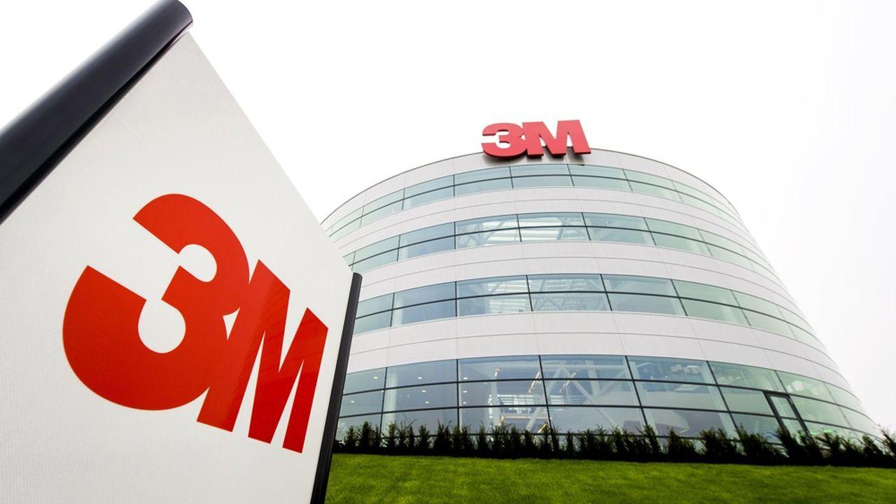 Le groupe 3M a déjà déménagé son site parisien.
