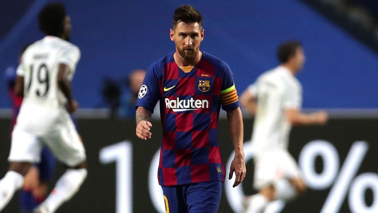 L'Argentin Lionel Messi a connu l'humiliation suprême avec le Barça, éliminé en demi-finales de la Ligue des champions par le Bayern Munich, futur vainqueur de la compétition, sur le score de 8 buts à 2.