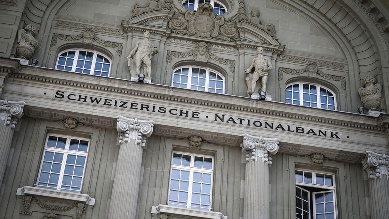 L'action de la Banque Nationale Suisse, cotée en bourse, a perdu 3,2% depuis le début de l'année, une contre-performance similaire à celle du marché boursier helvétique