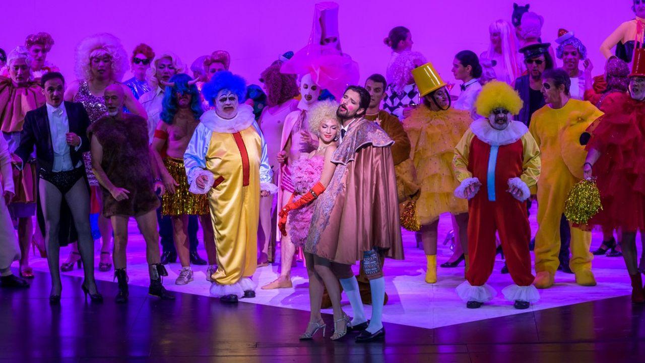 La Traviata sera reprise fin novembre à Bastille.