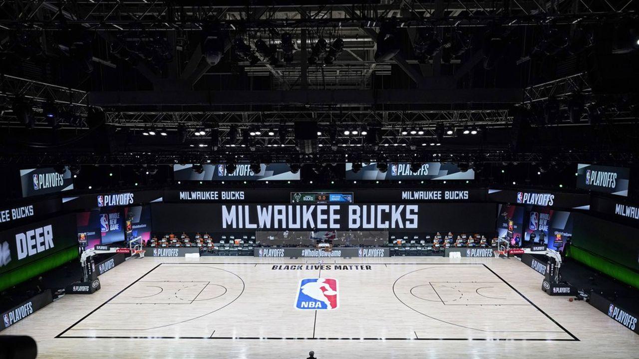 La NBA fait l'objet d'un boycott inédit de la part des joueurs de basket.