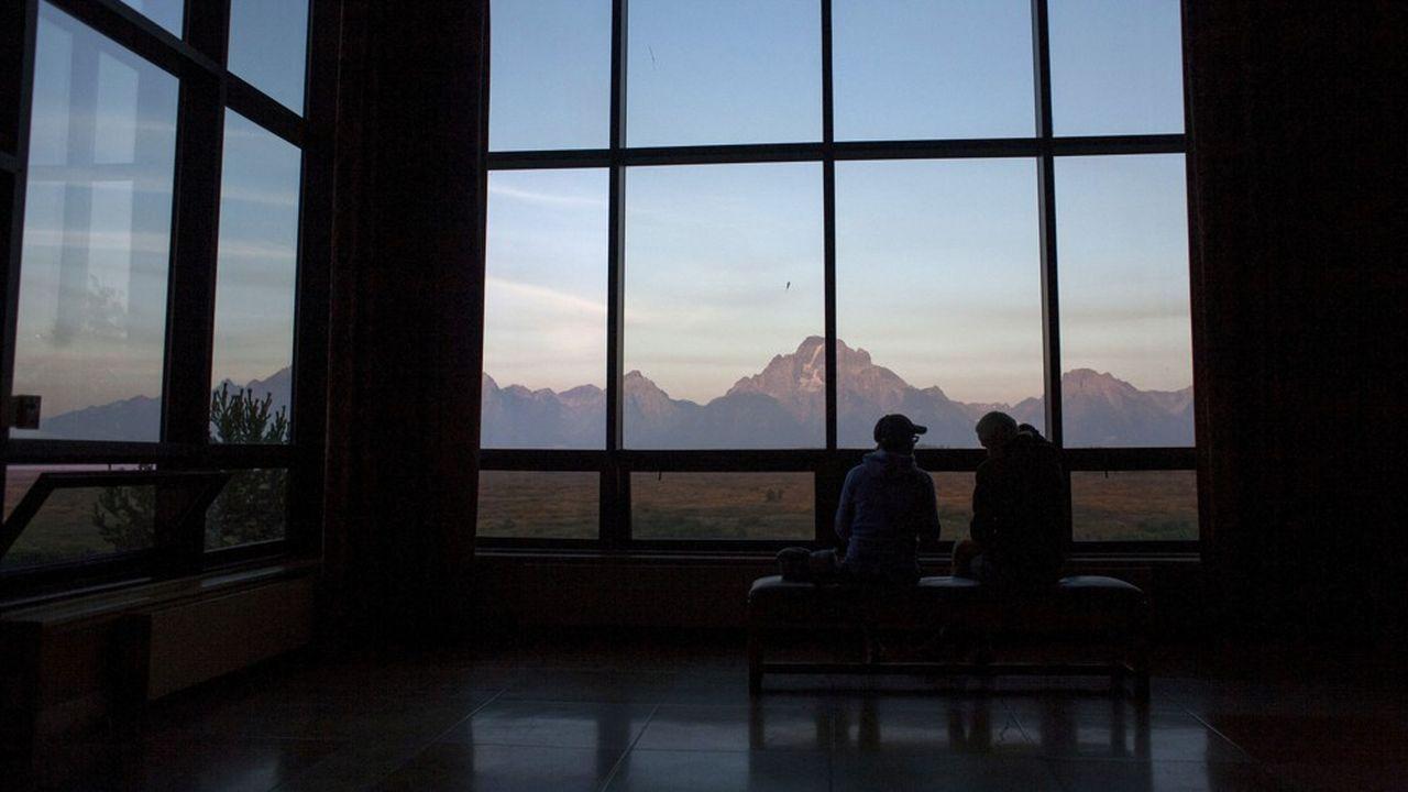 La réunion des banquiers centraux à Jackson Hole (Wyoming).