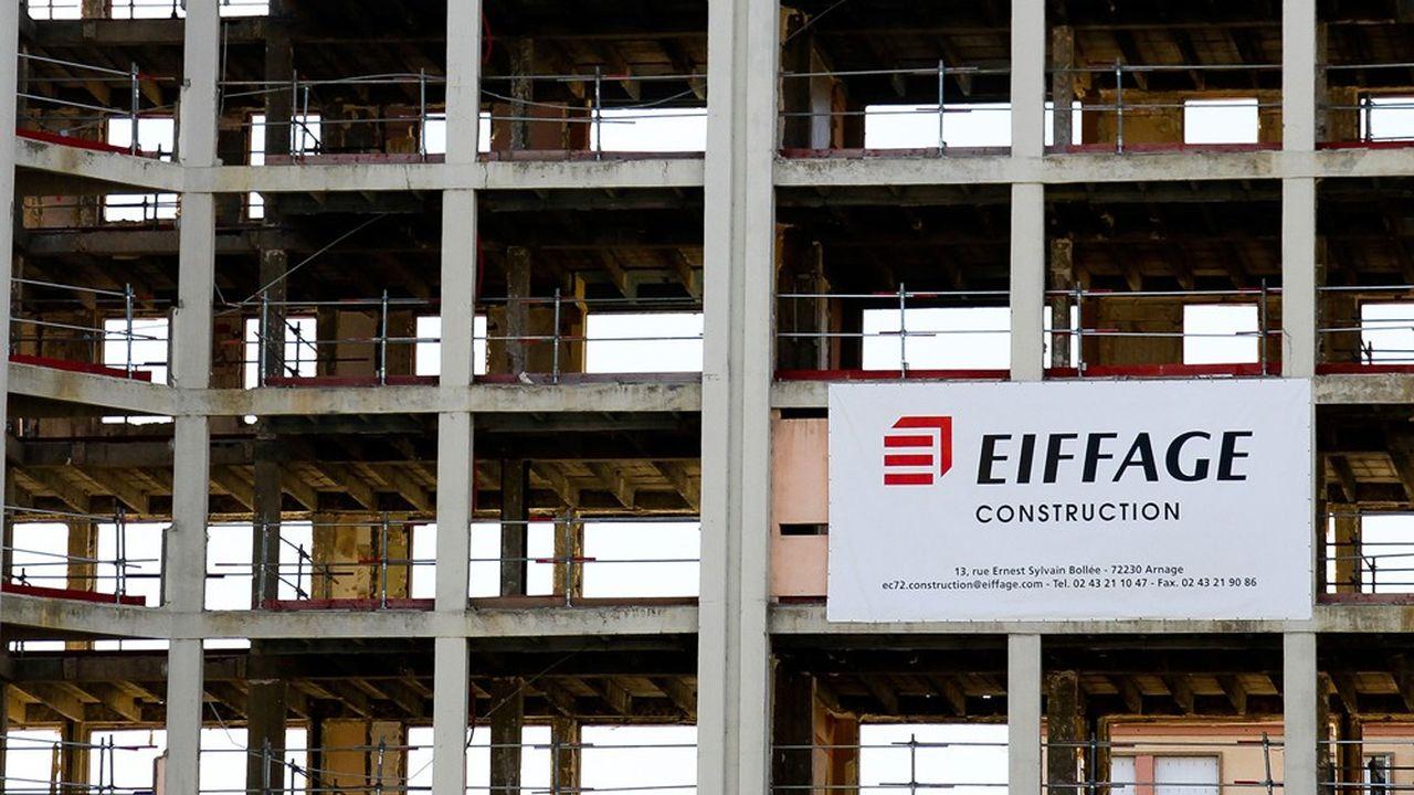 L'activité du groupe de janvier à juin a plongé de 27% dans la construction, de 15% dans les infrastructures et de 20% dans les concessions.