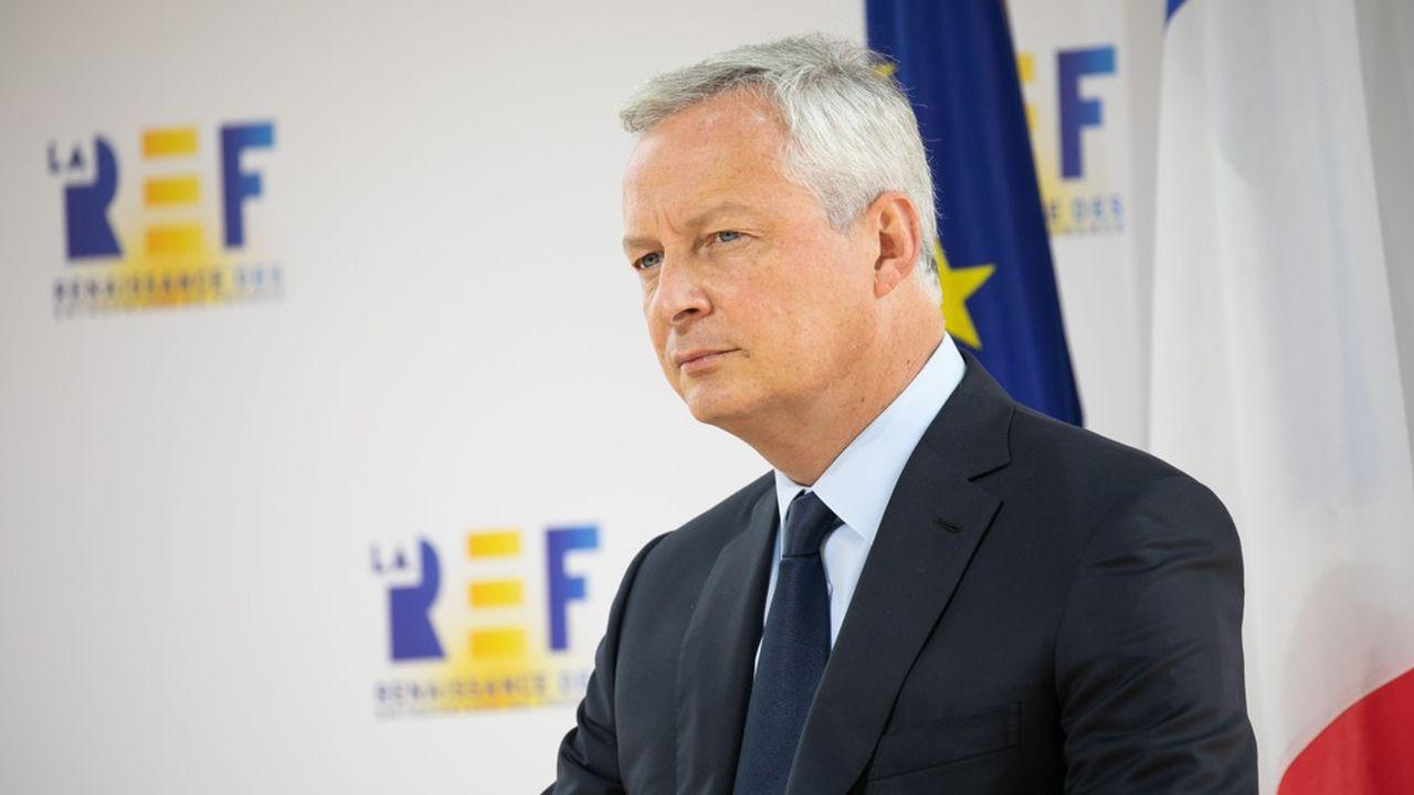 Bruno Le Maire a expliqué que «la philosophie [du plan de relance] est l'investissement pour la France de 2030».